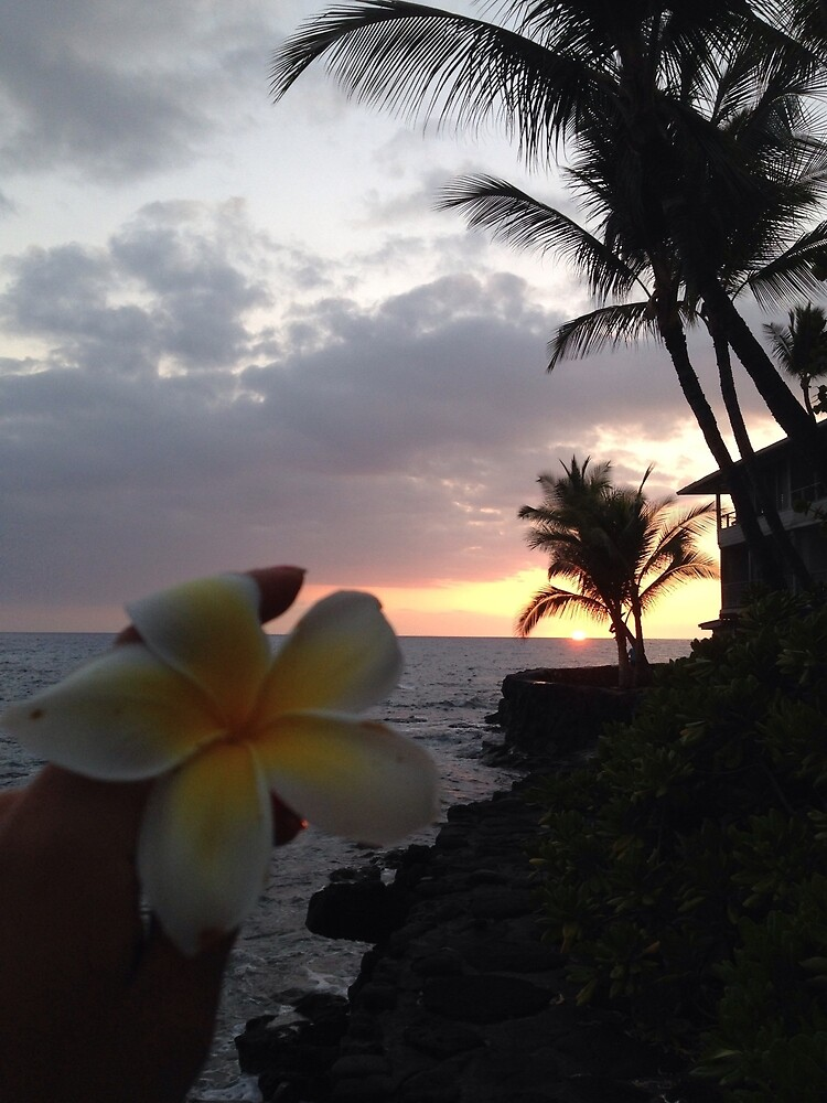 A sunset in Kona, Hawaii by ElasticEARTH