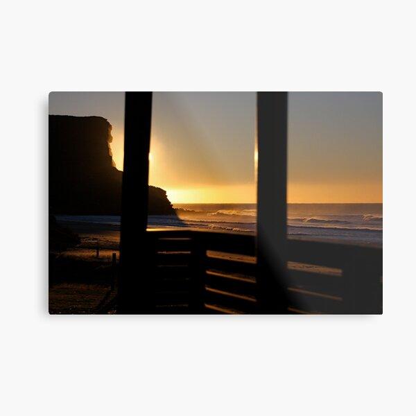 Garie Beach Surf Club Metal Print