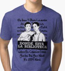 La Biblioteca | Community Tri-blend T-Shirt