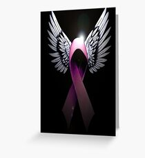 Breast Cancer Awareness Support The Cure Greeting Card