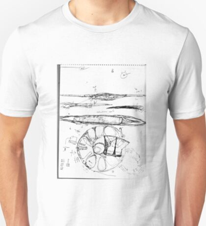 Thoughts on Electromagnetic Induction and Flight T-Shirt