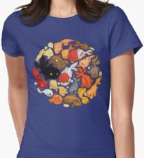 For The Love Of Goldfish Womens Fitted T-Shirt