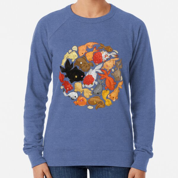 For The Love Of Goldfish Lightweight Sweatshirt
