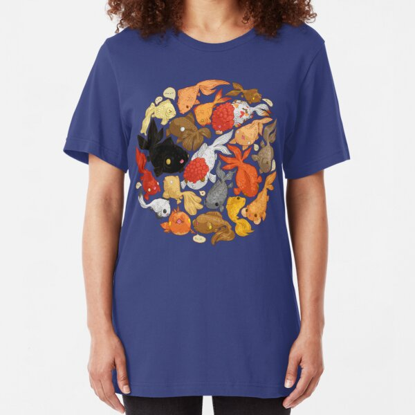 For The Love Of Goldfish Slim Fit T-Shirt