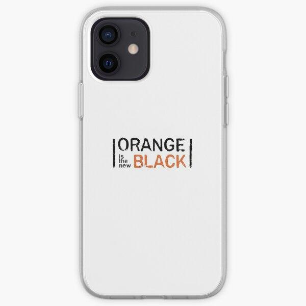 El naranja es el nuevo negro Funda blanda para iPhone