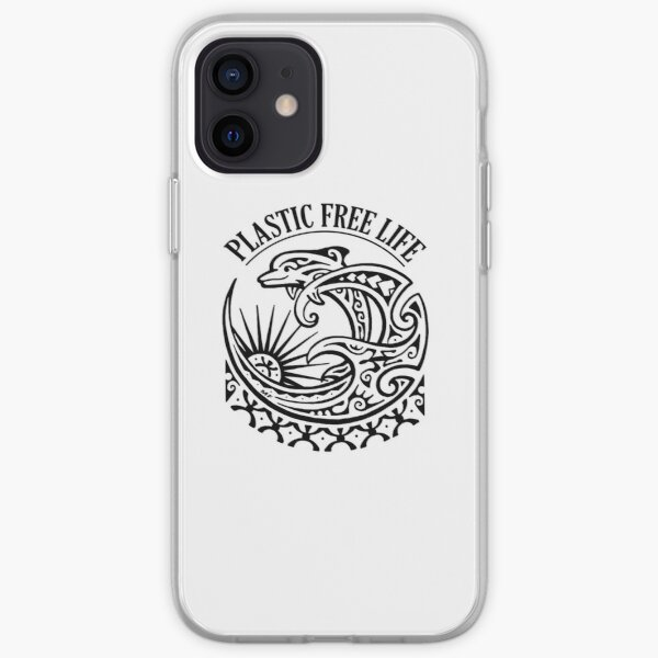 Marine life deserves clean oceans!! We can act together to free the oceans from plastic iPhone Soft Case