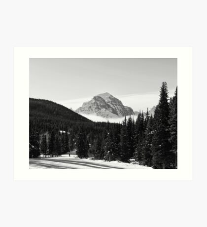 Mount Temple Art Print