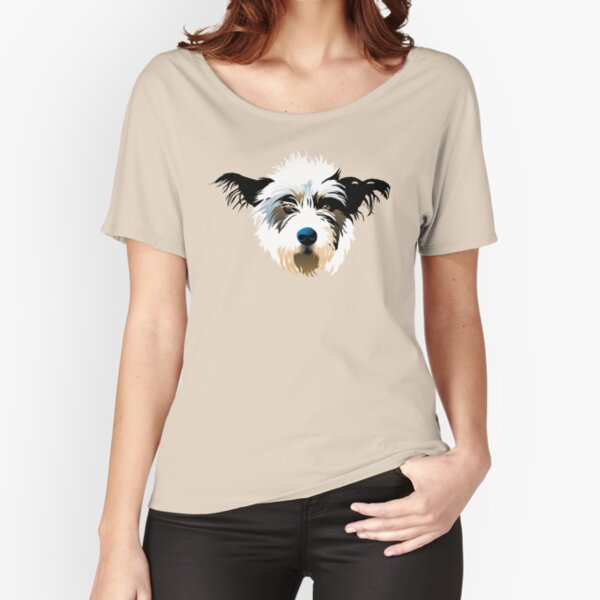 Fluffy Puppy Relaxed Fit T-Shirt