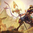 Azir Splash Art League Of Legends Art Print By Challengerb Redbubble