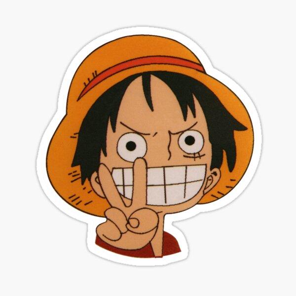 Luffy straw hat One piece Sticker