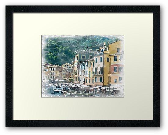 Portofino Italy by Colin Metcalf