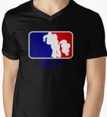 Major League Pony (MLP) - Pinkie Pie Men's V-Neck T-Shirt