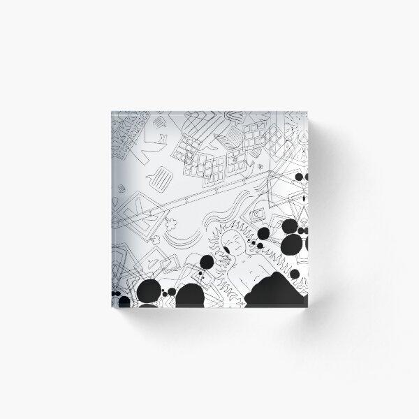 Lines Acrylic Block