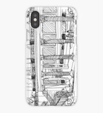 Getty Villa Pen and Ink Sketch iPhone Case/Skin