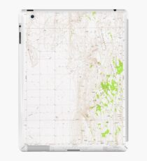 USGS Topo Map Oregon Mahon Creek 280625 1973 24000 iPad Case/Skin