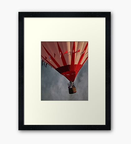 Up Up And Away . . . Framed Print