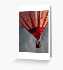 Up Up And Away . . . Greeting Card