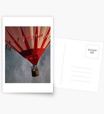 Up Up And Away . . . Postcards