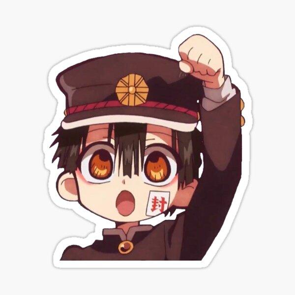 Hanako-kun is cheering you on!! Sticker