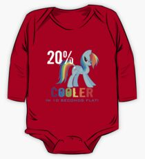 20% cooler in 10 seconds flat One Piece - Long Sleeve