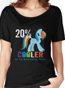 20% cooler in 10 seconds flat Women's Relaxed Fit T-Shirt
