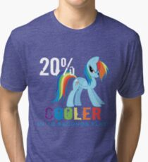 20% cooler in 10 seconds flat Tri-blend T-Shirt