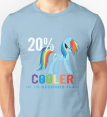 20% cooler in 10 seconds flat Unisex T-Shirt