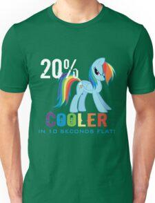 20% cooler in 10 seconds flat! Ladies Unisex T-Shirt