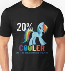 20% cooler in 10 seconds flat! Ladies T-Shirt