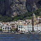 Amalfi panorama by Steve plowman