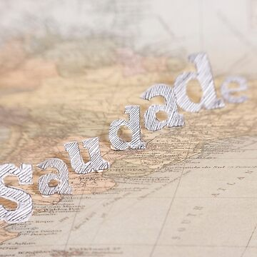 Saudade Old Map series by dreamphotos