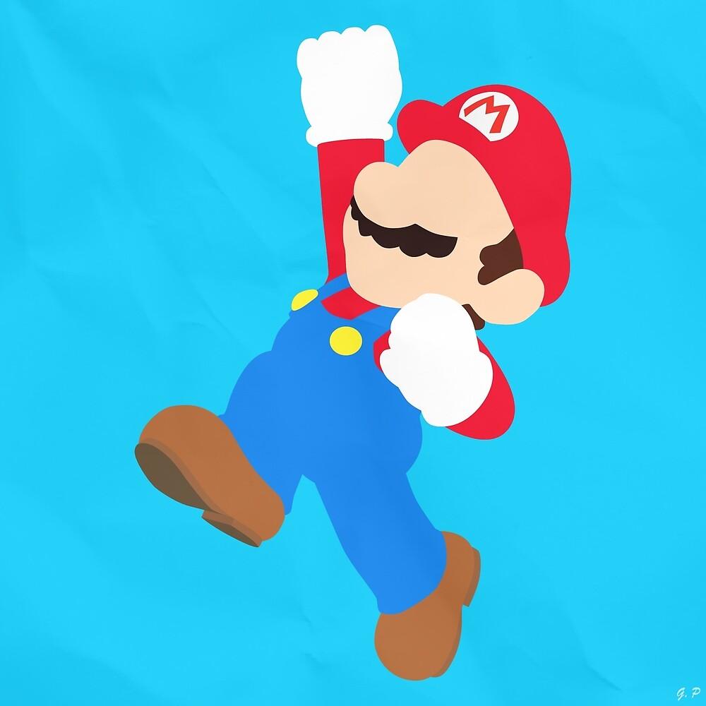 Mario (Simplistic) by Geoffery10