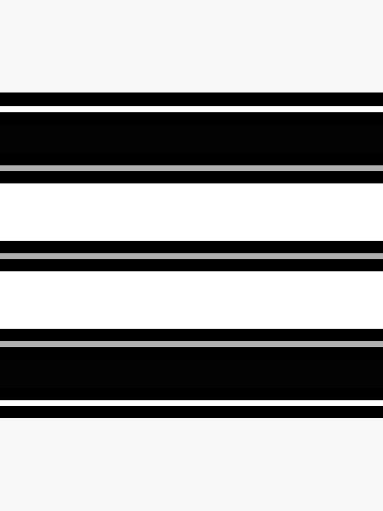 Minimal Abstract Black White 01 by BeatrisVeres