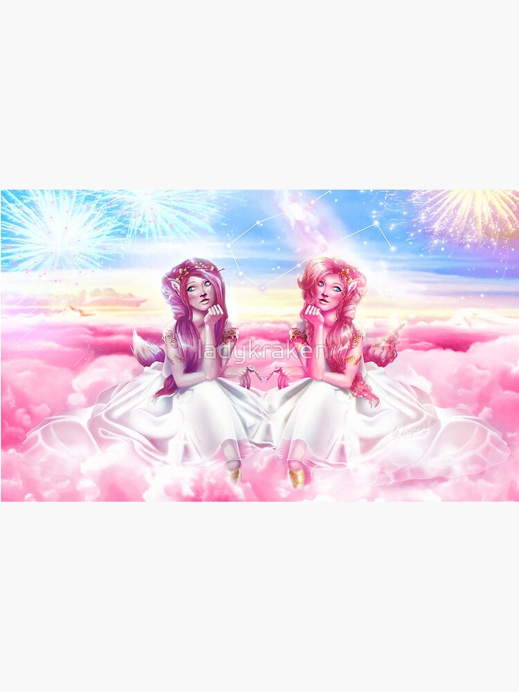 Pinkie Twins of Gemini - 12 Zodiac Ladies by ladykraken