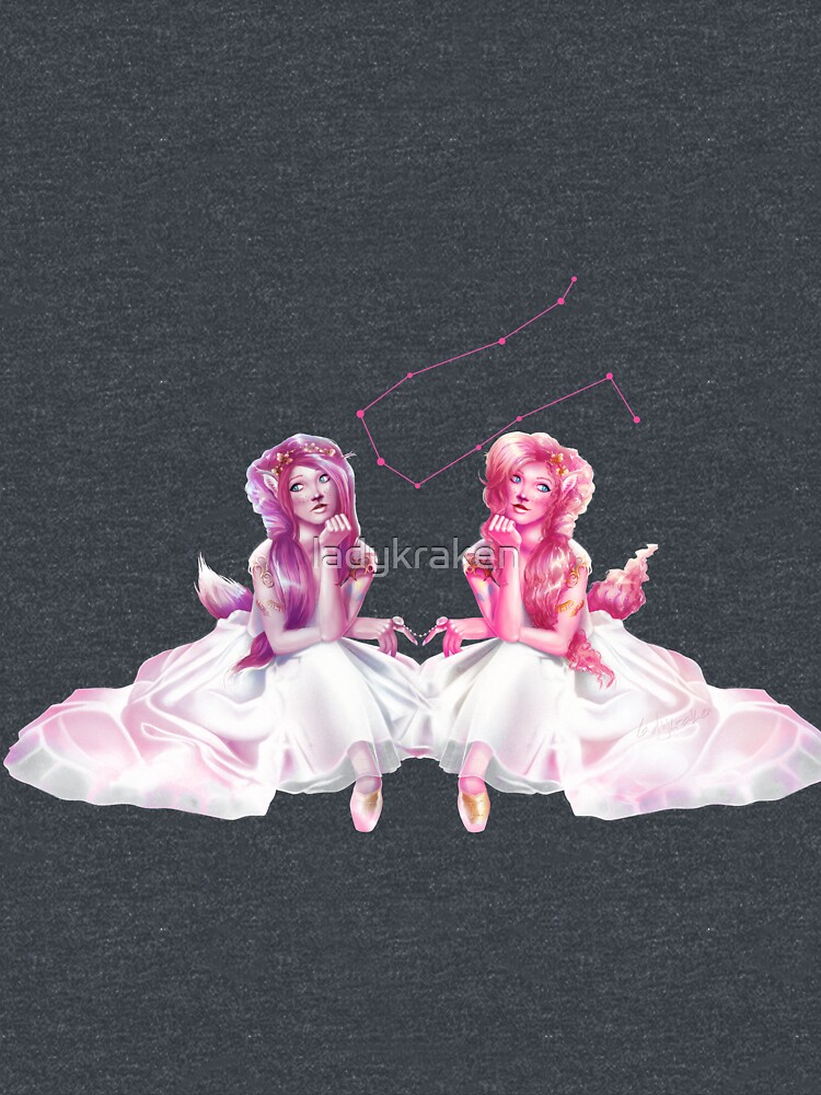 Pinkie Twins of Gemini - 12 Zodiac Ladies by ladykraken