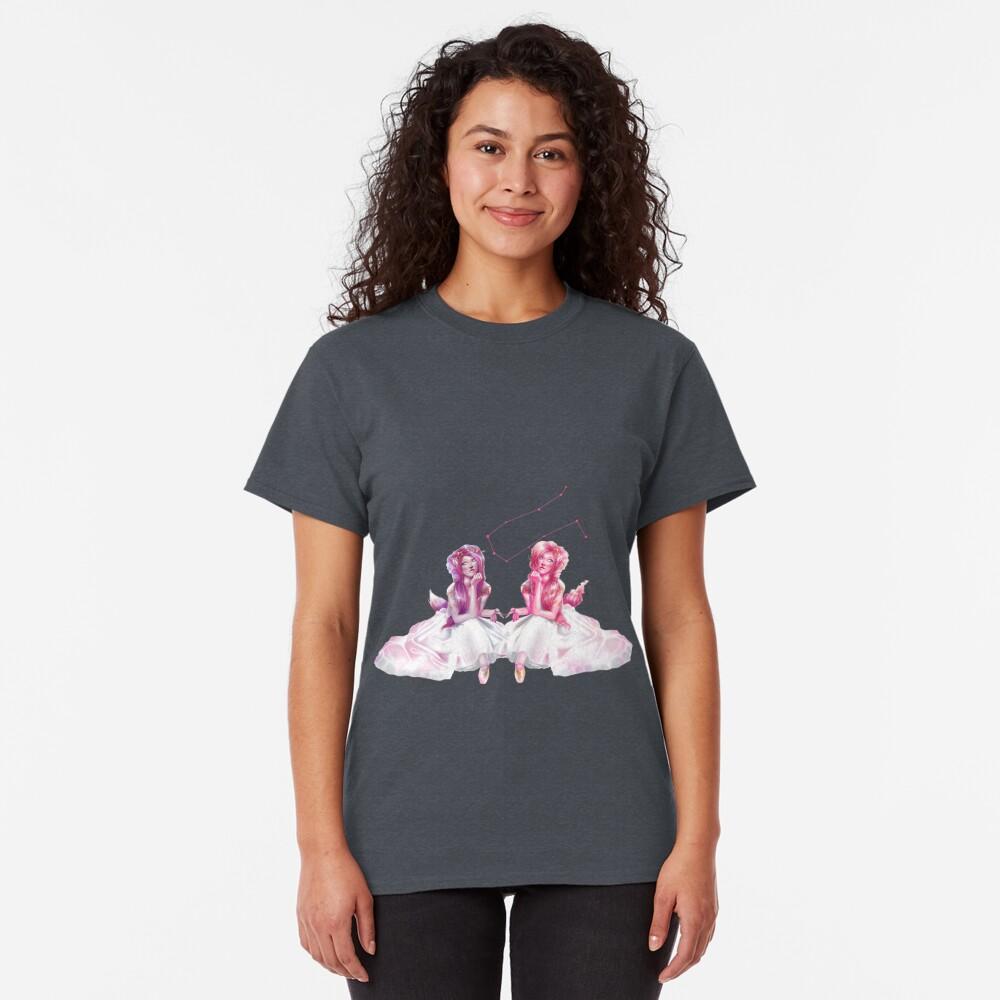 Pinkie Twins of Gemini - 12 Zodiac Ladies Classic T-Shirt