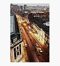 The Headrow From Above Photographic Print