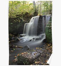 Rivelin Waterfall Poster