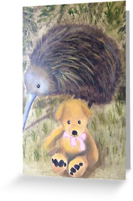 Kiwi Ted by Sharon Ellem-Bell