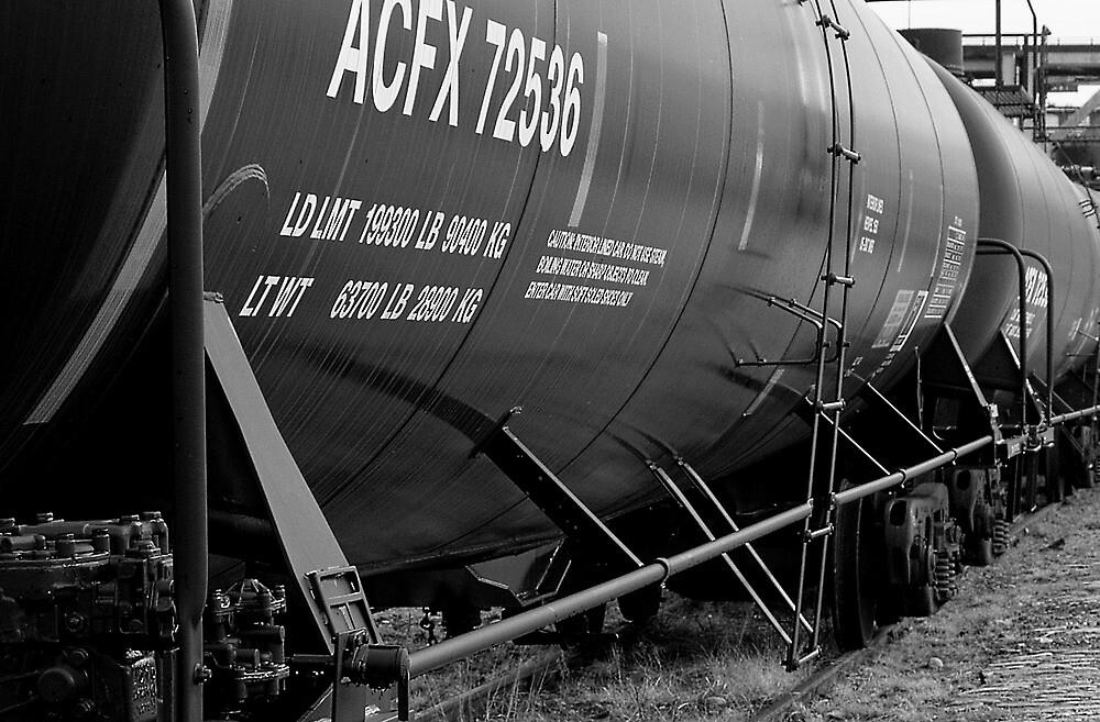 The Rail Yard  by John  Kapusta