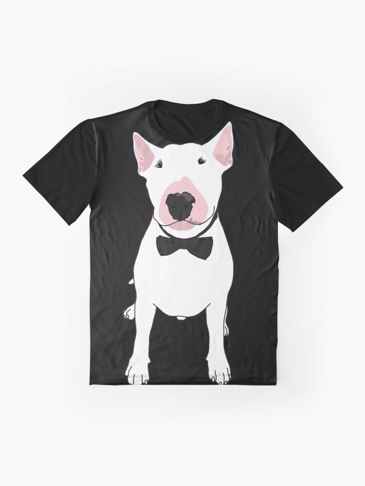 Alternate view of Anything Else Is Just A Dog Bowtie Bully Graphic T-Shirt