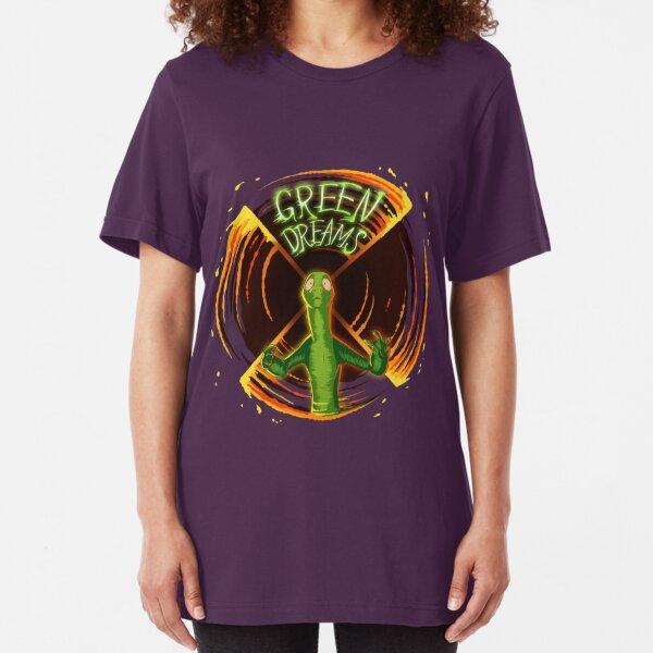 Green Dreams Slim Fit T-Shirt