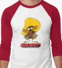 MACHETY - the fastest Blade in Mexico Men's Baseball ¾ T-Shirt