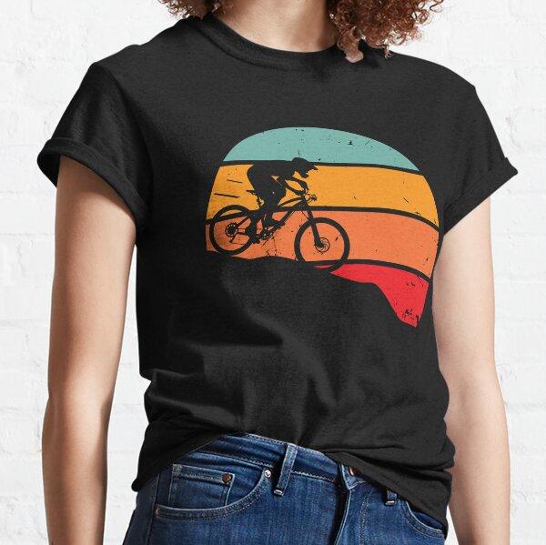 Retro downhill mountain biking Classic T-Shirt