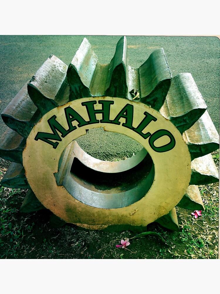 Mahalo Hawaiian Tire  by Margaretmilrose