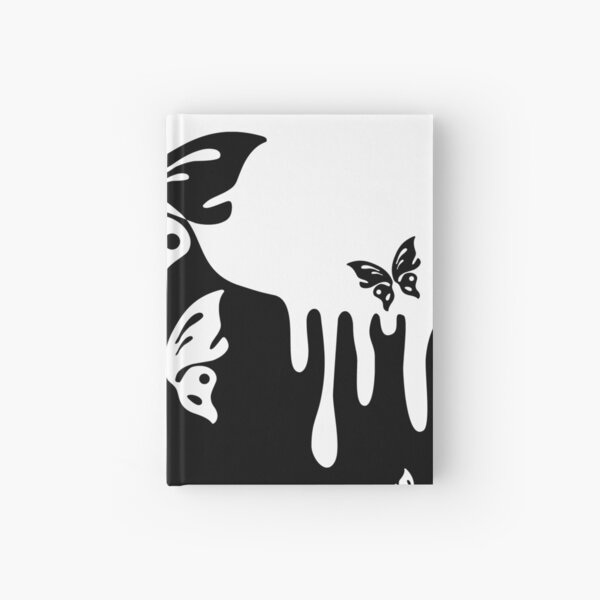 Tiere Natur - Spritzer Tattoos mit Schmetterlingen 1 Notizbuch