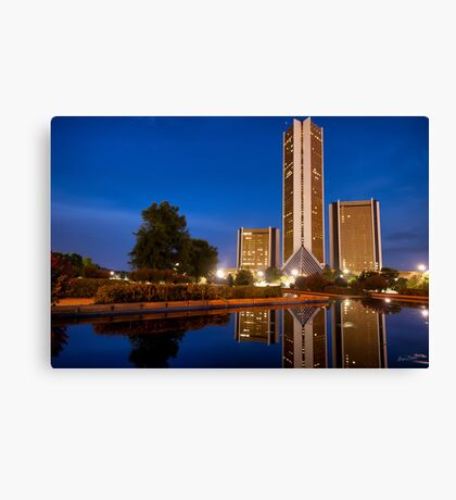 CityPlex Towers Canvas Print