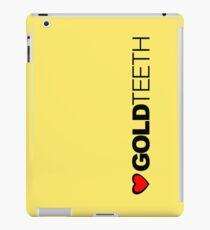 Love Gold Teeth iPad Case/Skin