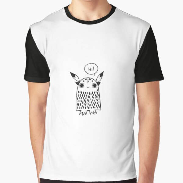 Cute monster Graphic T-Shirt
