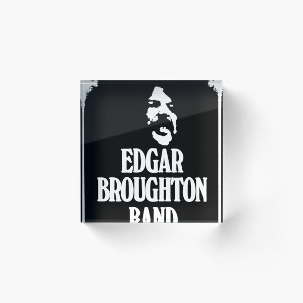EDGAR BROUGHTON BAND SUPER COOL T-SHIRT Acrylic Block